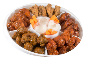 Platter of Wing King Chicken
